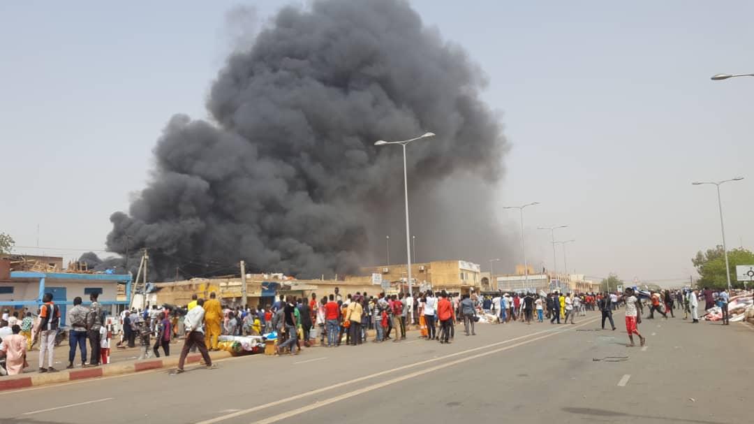 Manifestation au Niger_15 mars